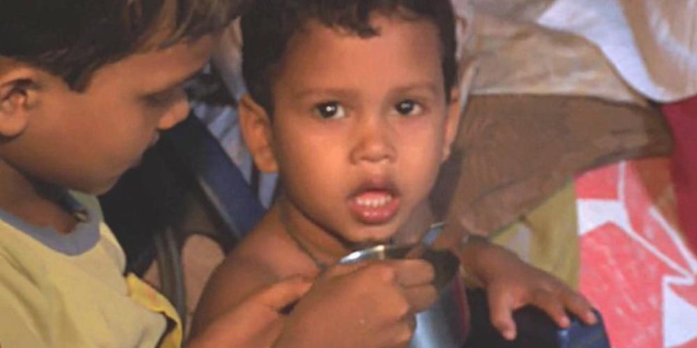 Still from Calcutta Kids BBC clip