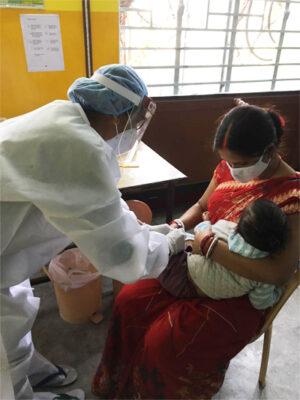 immunizations during Covid